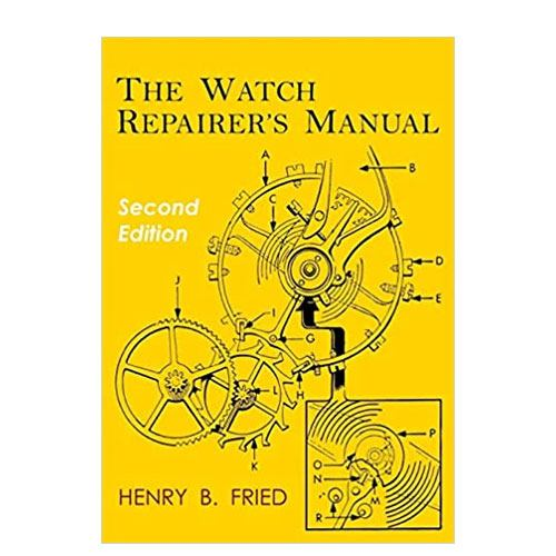 the watch repairer's manual book