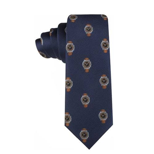 watch pattern necktie present
