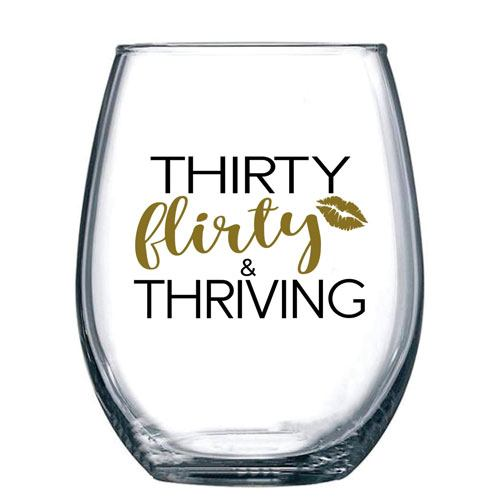 thirty flirty thriving tumbler