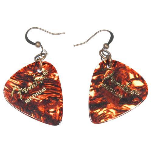 fender guitar picks earrings