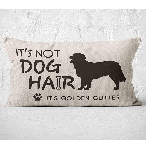 golden glitter pillowcase