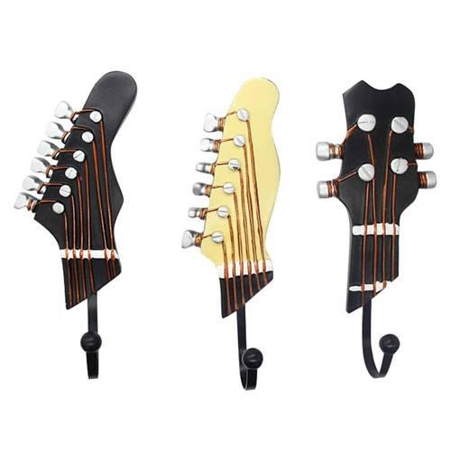 guitar shaped hook racks