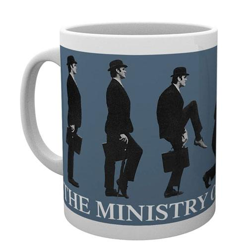 ministry of silly walks mug
