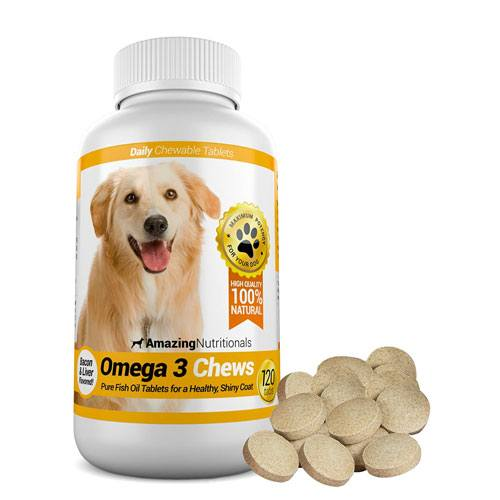 omega 3 for dogs chew tablets