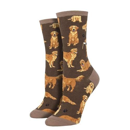 retriever socks present