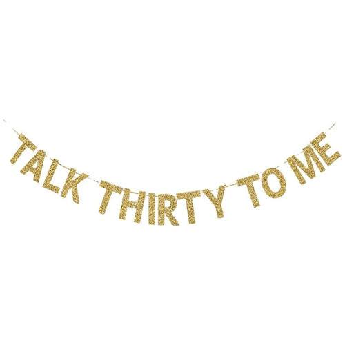 talk thirty to me banner