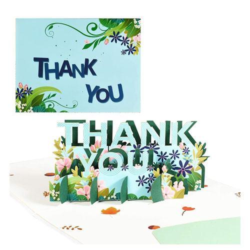 3d pop up appreciation card