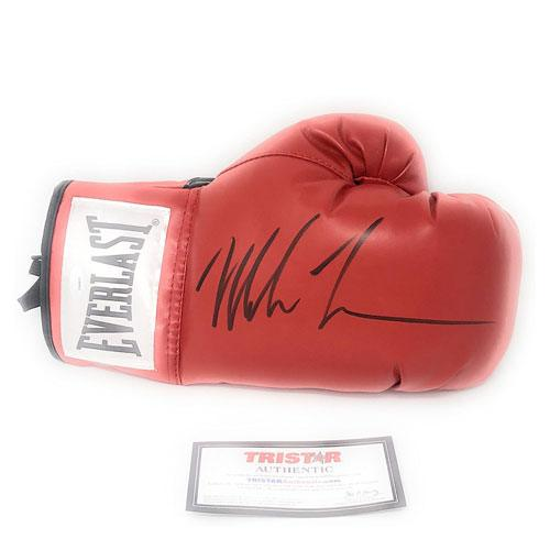 autographed mike tyson boxing glove