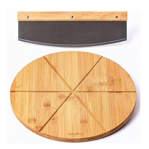 bamboo pizza cutting board
