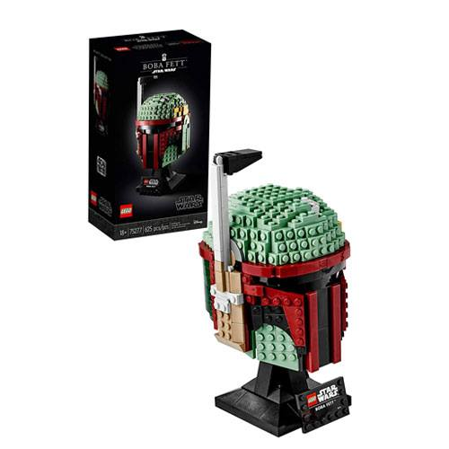 boba fett LEGO helmet