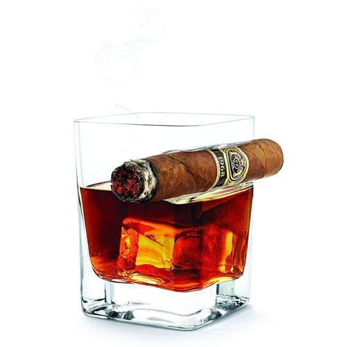 cigar rest glass