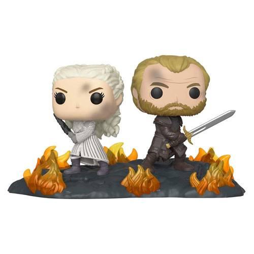 daenerys jorah battle figurine