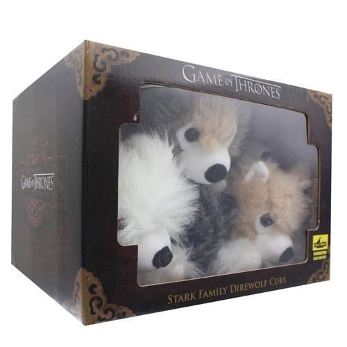 direwolf cub plushies
