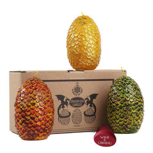 dragon eggs candles set