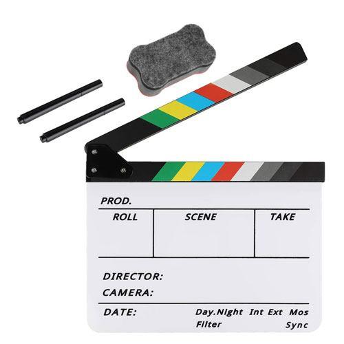 film clapboard set