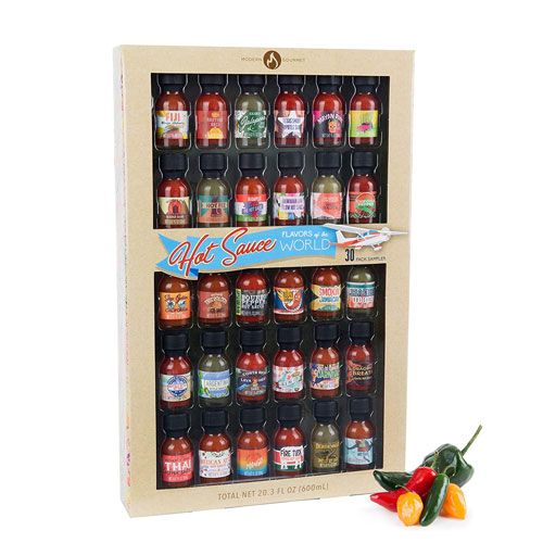 hot sauces from around the world gift set