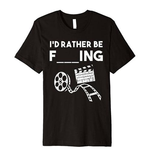 funny filmmaker t-shirt