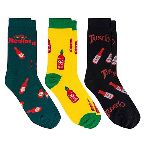 hot sauce crazy socks