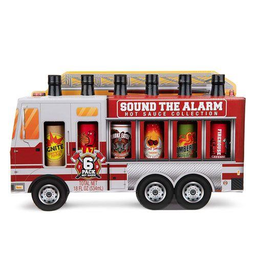 hot sauce fire truck