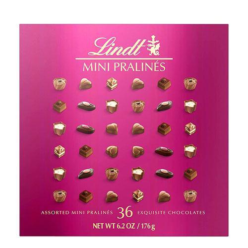 lindt mini pralines chocolates