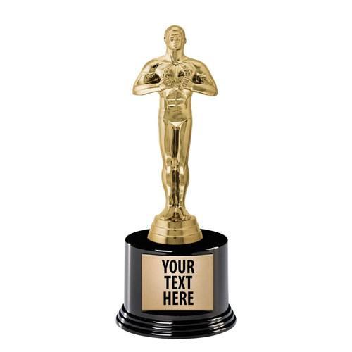 personalized oscar trophy award