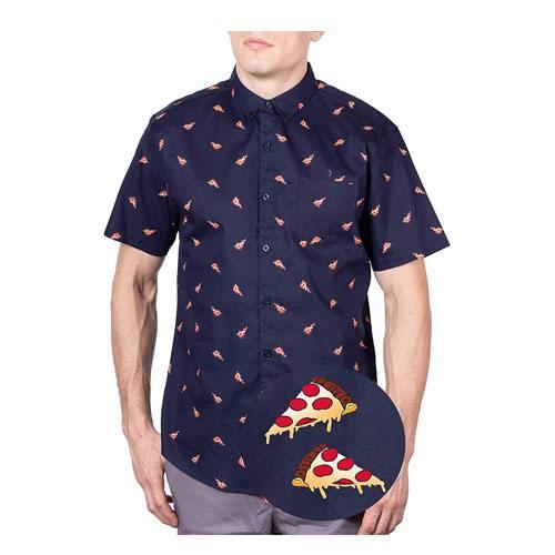 pizza pattern shirt