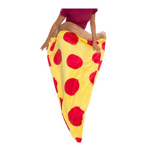 pizza slice sleeping bag