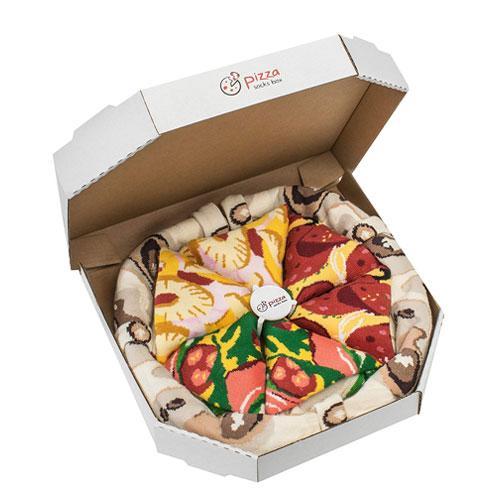 pizza socks gift box