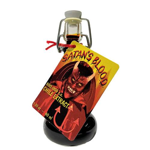 satans blood chile extract sauce