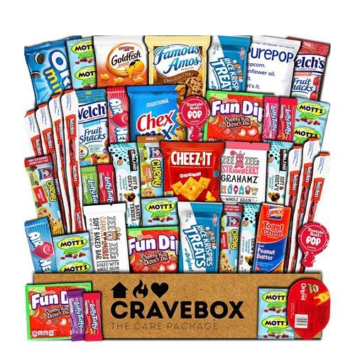 snacks care package