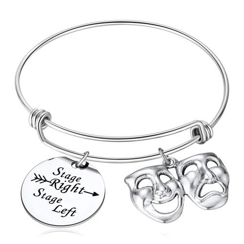 stage directions mask bracelet