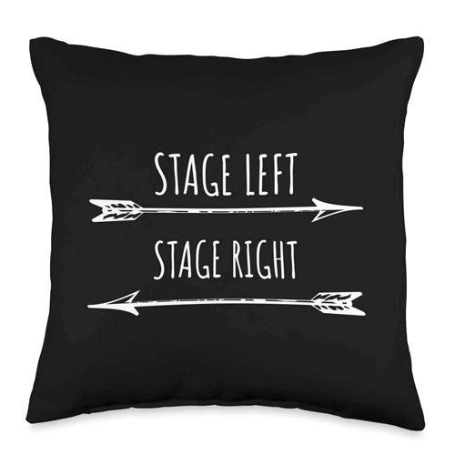 stage directions pillow cover