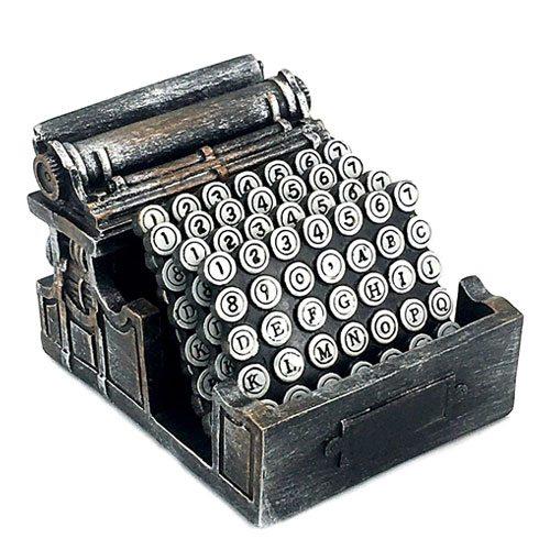 typewriter drinks coasters set