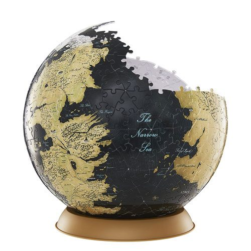 Westeros esso globe puzzle