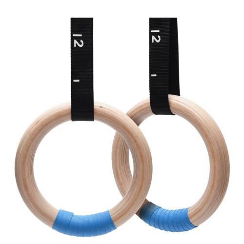 wooden gymnastics rings