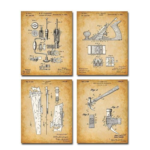 woodworking tool patent prints
