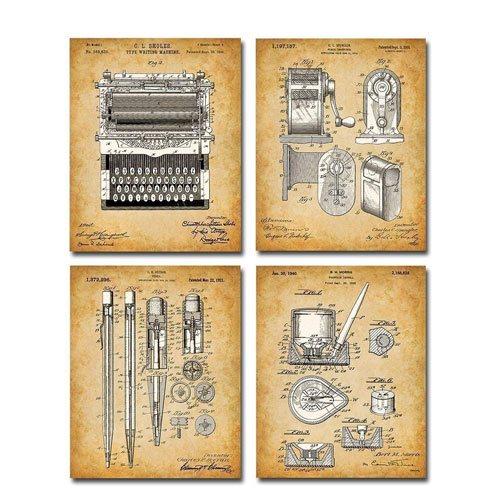 writing patent prints