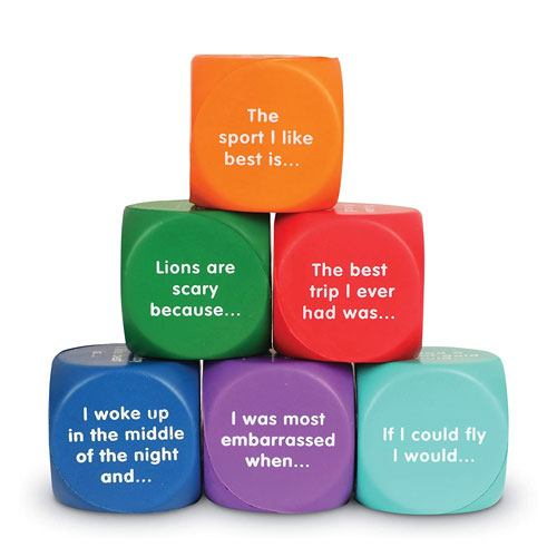 writing prompt cubes