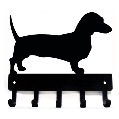 dachshund key rack