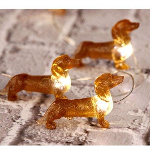 LED dachshund lights