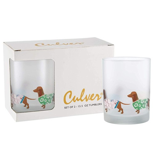 frosted tumbler glasses