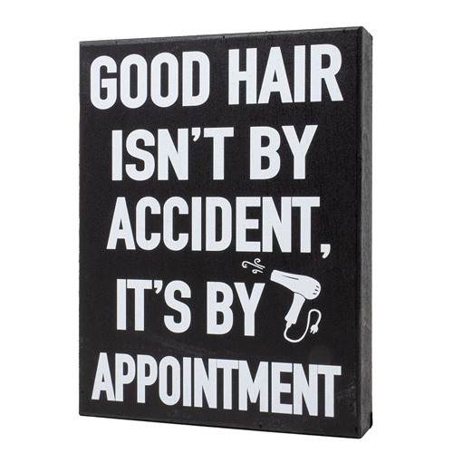 good hair isn't by accident