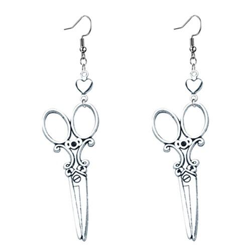 dangle scissor earrings