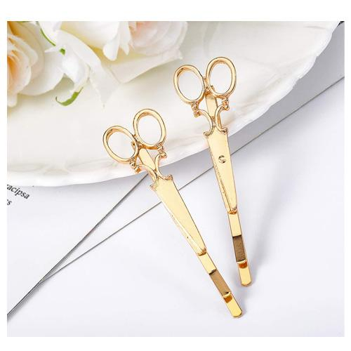 scissor hair clips